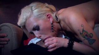 Isabella Clark milks her boss