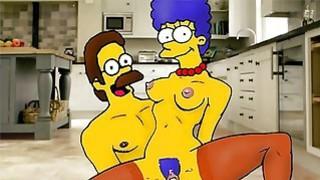 Marge Simpsons hidden orgies